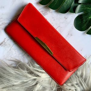 Vintage Red Check Wallet